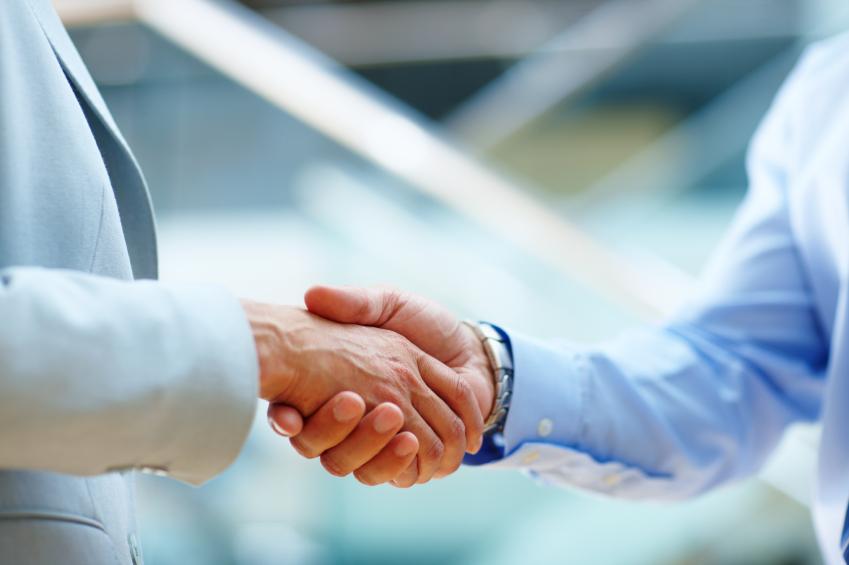 home handshake